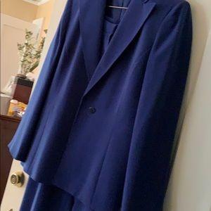 Blue suit set